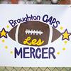 Broughton varsity football vs. Enloe. October 6, 2017.