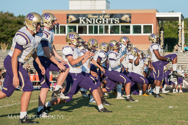 Broughton JVarsity Football vs. Knightdale. September 8, 2017.