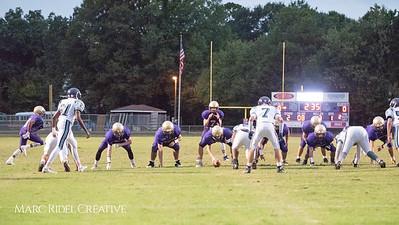 Broughton JV football vs Leesville. October 12, 2017.