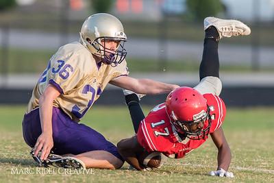 Broughton JV Football vs Rolesville. 21-2. September 14, 2017.