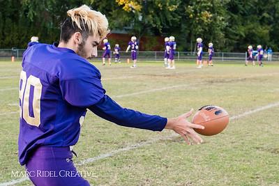 Broughton JV football vs. Sanderson. October 26, 2017.