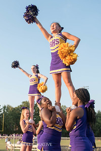 Broughton JV football vs Southeast Raleigh. September 28, 2017.