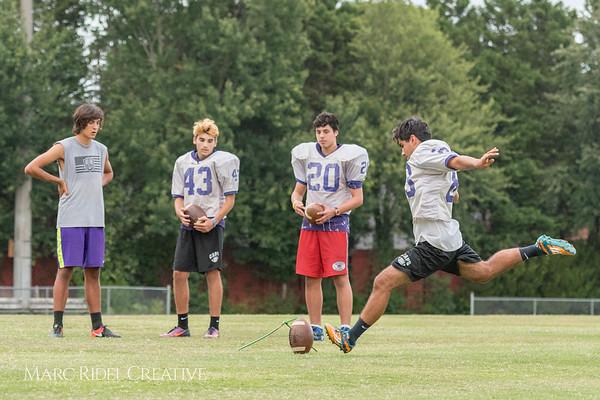 Broughton Football Summer Training     Day 3. August 2, 2017.