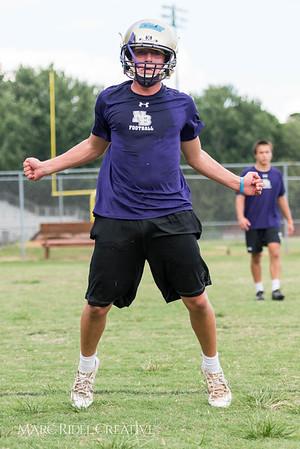 Broughton Football Summer Training. August 4, 2017