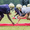 Broughton Football Summer Training. August 8, 2017
