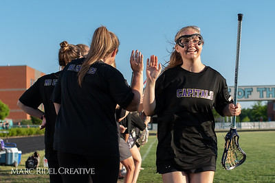 Broughton varsity lacrosse vs. Panther Creek. Round two east regional playoffs. May 4, 2018.