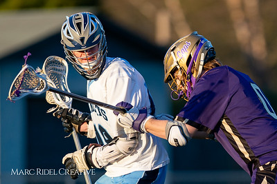Broughton varsity lacrosse vs Millbrook. March 27, 2019. D4S_5236