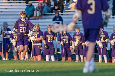 Broughton varsity lacrosse vs Millbrook. March 27, 2019. D4S_5297