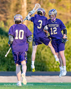 Broughton varsity lacrosse vs Millbrook. March 27, 2019. D4S_5270