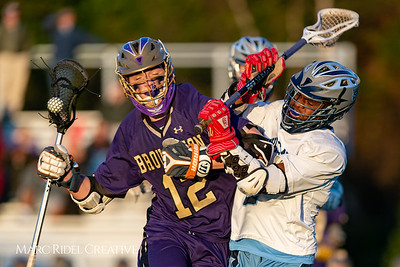 Broughton varsity lacrosse vs Millbrook. March 27, 2019. D4S_5266