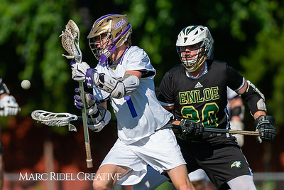Broughton varsity lacrosse vs Enloe. April 23, 2019. D4S_9280