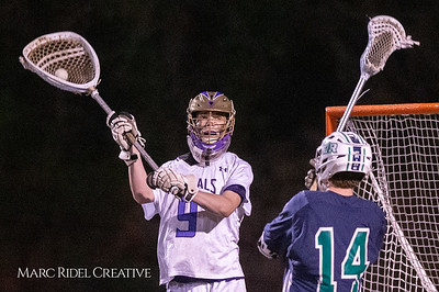 Broughton varsity lacrosse vs Leesville. March 15, 2019. D4S_8861