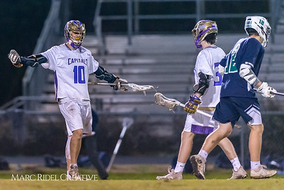 Broughton varsity lacrosse vs Leesville. March 15, 2019. D4S_8902