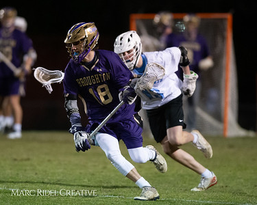 Broughton varsity lacrosse vs Panther Creek. March 4, 2019. D4S_3743
