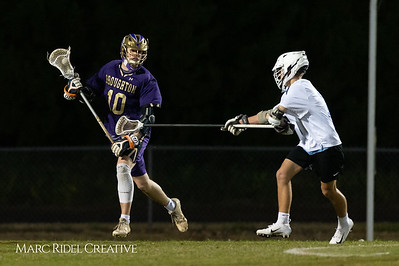 Broughton varsity lacrosse vs Panther Creek. March 4, 2019. D4S_3629
