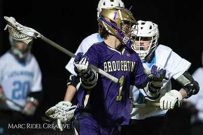 Broughton varsity lacrosse vs Panther Creek. March 4, 2019. D4S_3671