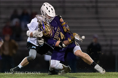 Broughton varsity lacrosse vs Panther Creek. March 4, 2019. D4S_3638