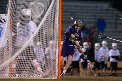 Broughton varsity lacrosse vs Panther Creek. March 4, 2019. D4S_3710