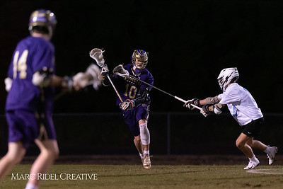 Broughton varsity lacrosse vs Panther Creek. March 4, 2019. D4S_3645