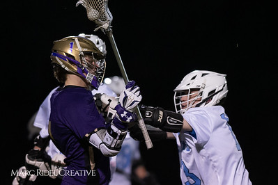 Broughton varsity lacrosse vs Panther Creek. March 4, 2019. D4S_3668