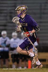 Broughton varsity lacrosse vs Panther Creek. March 4, 2019. D4S_3640