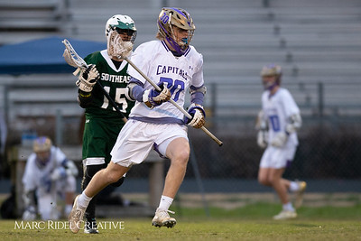 Broughton varsity lacrosse vs Southeast Raleigh. March 8, 2019. D4S_5263