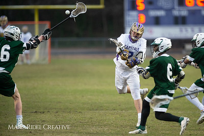 Broughton varsity lacrosse vs Southeast Raleigh. March 8, 2019. D4S_5252