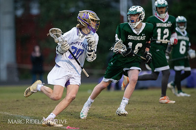 Broughton varsity lacrosse vs Southeast Raleigh. March 8, 2019. D4S_5269