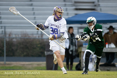 Broughton varsity lacrosse vs Southeast Raleigh. March 8, 2019. D4S_5261