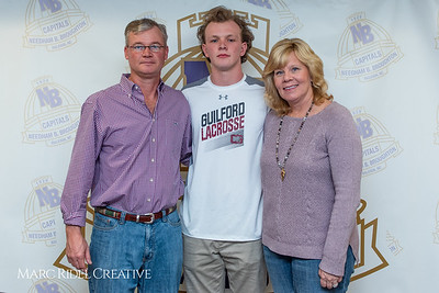 Broughton senior Austin Rohweder signs his commitment letter to play lacrosse for Guilford college. February 7, 2019. 750_2927