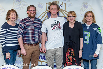 Broughton senior Austin Rohweder signs his commitment letter to play lacrosse for Guilford college. February 7, 2019. 750_2933