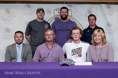 Broughton senior Austin Rohweder signs his commitment letter to play lacrosse for Guilford college. February 7, 2019. 750_2900