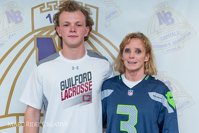 Broughton senior Austin Rohweder signs his commitment letter to play lacrosse for Guilford college. February 7, 2019. 750_2931
