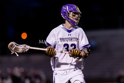 Broughton boys varsity lacrosse vs Middle Creek. February 28, 2020. D4S_0808