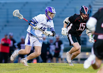 Broughton boys varsity lacrosse vs Middle Creek. February 28, 2020. D4S_0744