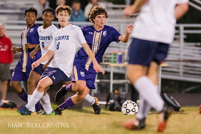 Broughton soccer vs. Millbrook. October 25, 2017.