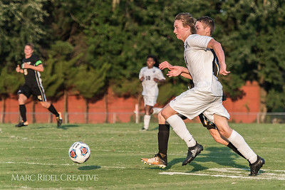 Broughton Varsity Soccer vs. Apex. August 16, 2017