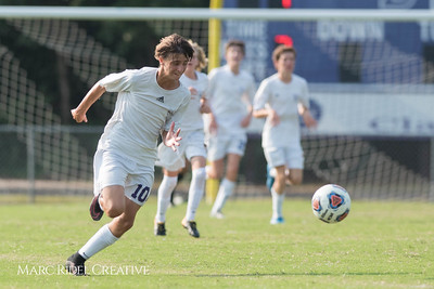 Broughton Soccer vs. Athens Drive. September 5, 2017.