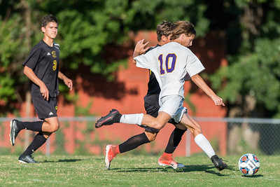 Broughton JV soccer vs. Enloe. 2-2. September 18, 2017.