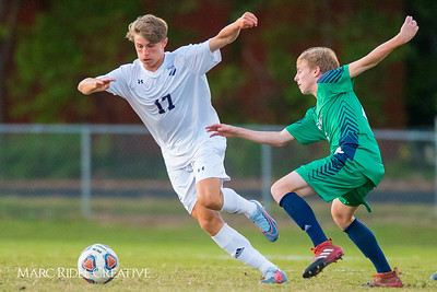 Broughton varsity soccer vs Leesville. October 19, 2017.