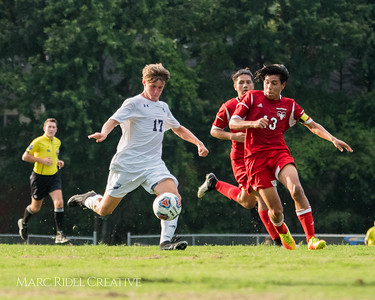 Broughton Varsity Soccer vs. Rolesville. August 14, 2017