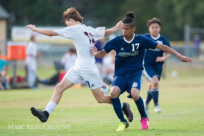 Broughton JV soccer vs. Southeast Raleigh. October 9, 2017.
