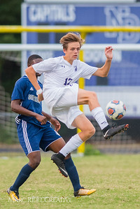 Broughton varsity soccer vs. Southeast Raleigh. October 9, 2017.