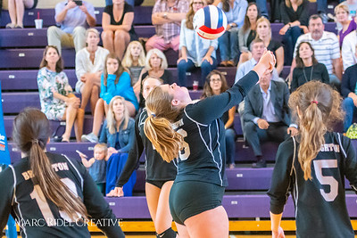 `Broughton volleyball vs. Cardinal Gibbons. September 25, 2018.