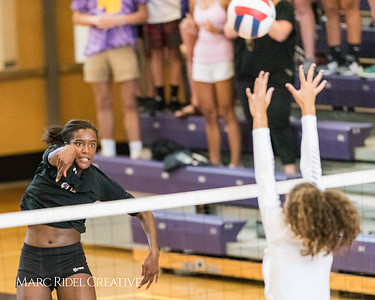 Broughton Volleyball vs Cardinal Gibbons. August 31, 2017.