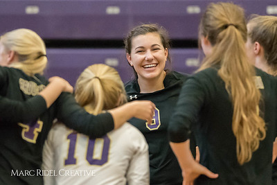 Broughton volleyball vs Enloe. October 12, 2017.