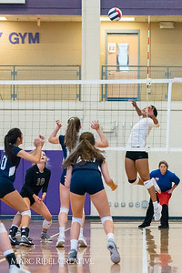 Broughton varsity volleyball vs. Hoggard. Second round NCHSAA playoffs. October 24, 2017.