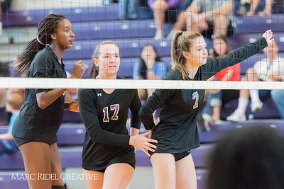 Broughton Varsity Volleyball vs. Leesville. 3-0. September 20, 2017.