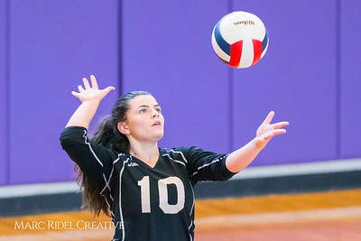 Broughton JV Volleyball vs. Millbrook. September 7, 2017.