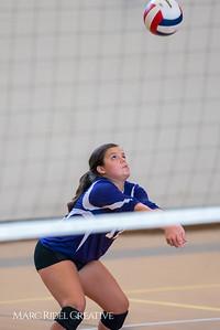 Broughton JV Volleyball vs Sanderson. September 28, 2017.
